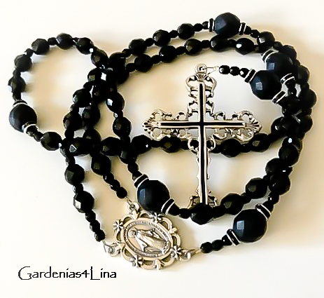Black Rosary titled How Great is the Sweetness